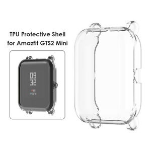 TPU Full Cover Scratch Case for Amazfit GTS2 Mini Pro Protective Frame Shell