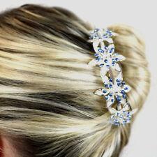 Wedding Hair Combs Bridal Accessories Ladies Crystal Slides Clips Head Pieces UK