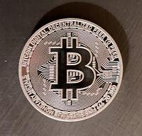 2021 Bitcoin 1 oz .999 fine Solid Silver Commemorative MJB Monetary Metals