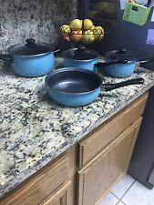 Cookware set 7 piece Pots Pans Non Stick professional cooking kit New