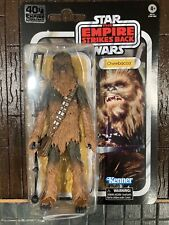STAR WARS BLACK SERIES ESB 40TH ANNIVERSARY 6-INCH CHEWBACCA ACTION FIGURE Mint