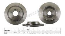Disc Brake Rotor-Base Rear Best Brake GP544013