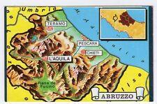 figurina TUTTA ITALIA FOL. BO SERIE NUMERO 1 NEW N. 123 ABRUZZO