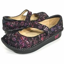 Alegria Dayna DAY-249 Mary Jane Comfort Shoe Size 38 (US 8/8.5) Iridescent