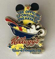 Kelloggs At Disney World Resort Breakfast Sponsor Pin Badge Rare Vintage (E8)