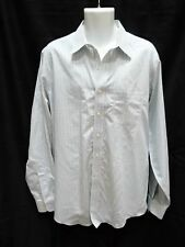 Men's BROOKS BROTHERS White Green Plaid Checks Shirt Size 16.5 36 NON IRON