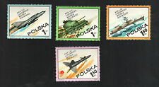 POLAND 1973 - Set of 4 Stamps - Polish Peoples's Army, 30th Ann. - #1996 - #1999