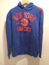 New York Knicks Adidas Hardwood Classics Hoodie Size Large MSRP $70 Est '46