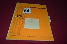 International Harvester Snow Blower Dealer's Parts Book DCPA6