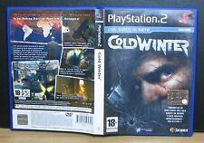COLD WINTER - PS2 - PlayStation 2 - PAL - Italiano - Usato