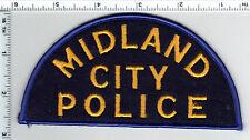 Midland City Police (Michigan)  Shoulder Patch  1980's