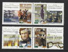 Irlande 2001 Irlandais Héritage En Australie Ensemble 4 Très Bien Utilisé