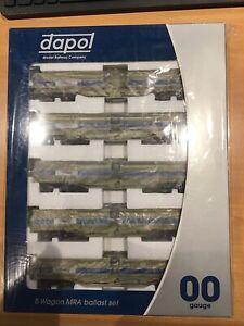 DAPOL MRA Ballast Set 00 Gauge B859B NETWORK RAIL BLUE GREY