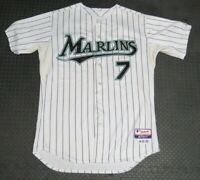 2009 Ross Gload Florida Marlins Game Used Worn MLB Baseball Jersey! Miami Signed
