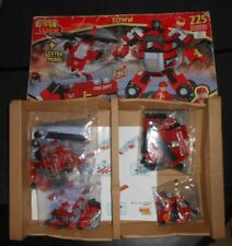 Best Town Town Firefighters Set  - Truck, Helicopter, Robot,