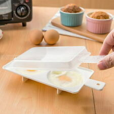 Breakfast Instant Cooker Kitchen Tool Microwave Oven Two Egg Poacher Sandwich