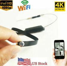 Mini 1080p 4K HD wireless WIFI IP DIY Spy Screw Hidden pinhole Camera DVR