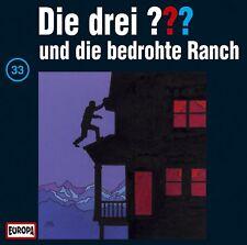 CD * DIE DREI ??? (FRAGEZEICHEN) - 33 - UND DIE BEDROHTE RANCH # NEU OVP =