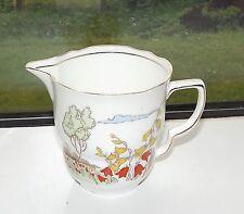 Samuel Radfords Bone China 1930s Harebell Pattern 6252 Hand Painted Milk Jug