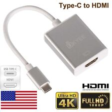 USB-C to HDMI Adapter Cable USB Type c to HDMI converter for Macbook Pro 4K@60HZ