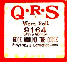 QRS Bill Haley & Comets ROCK AROUND THE CLOCK J.L. Cook 9164 Player Piano Roll