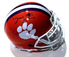 Derion Kendrick Signed Clemson Tigers Mini Football Helmet w/COA C