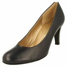 Gabor 100% Leather Slim Court Heels for Women