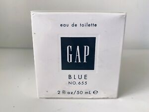 Gap 655 BLUE FOR HER EDT PERFUME 2 Oz NEW IN SEALED BOX