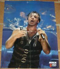 poster affiche revue magazine français Rock RAMMSTEIN 58x42cm