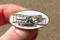 Wright Bros. Flyer Aircraft Airplane Lapel Pin Tie Tack nsignia Emblem