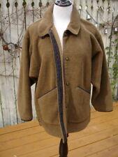 VINTAGE 80's PATAGONIA Nubby Pile Metal Button Down  Jacket
