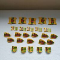 Playmobil Eagle Knights Shields & Flags X 26 Spare Parts