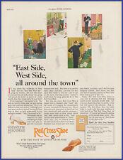 Vintage 1925 RED CROSS SHOE Shoes Women's Footwear Fashion 20's Print Ad