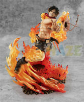 Anime One Piece Portgas·D· Ace MAX 15th Anniversary 25cm Figure Model Toy In Box