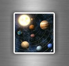 Sticker wall decal home decor vinyl solar system 10 scrapbook earrth planets