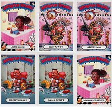 2017 GARBAGE PAIL KIDS ADAM GEDDON BATHROOM BUDDIES COMPLETE SET 6/6