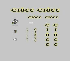 Ciocc Bicycle Decals, Transfers, Stickers n.1