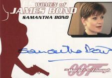 JAMES BOND - ARCHIVES - 2014 - SAMANTHA BOND AS MISS MONEYPENNY AUTO CARD - WA37