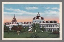 [49773] OLD POSTCARD CONVENT OF MARY IMMACULATE in KEY WEST, FLORIDA