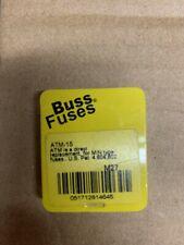 Buss Fuses AMT-15 Mini Blade Fuse 15 AMP