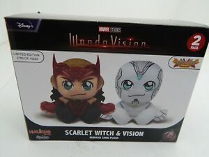 marvel studios wandavision scarlet witch and vision plush Disney Limited Edition
