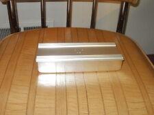 KENSINGTON ART DECO 3 COMPARTMENT ALUMINUM BOX
