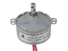 Robust Synchronous Motor TYD-50 AC110V 24RPM Torque 1.2Kgf.cm 4W CW/CCW  NEW!