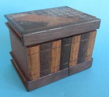Charmante boite ancienne boîte à secrets puzzle box marqueterie