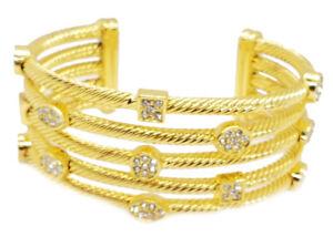 "Beautiful Bracelet-Cuff for Women Catalogue Fashion Jewellery – ""Cleopatra Gold"""