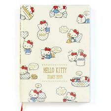 Sanrio Hello Kitty B6 Diary (block type) Schedule Planner Book 2019 Japan
