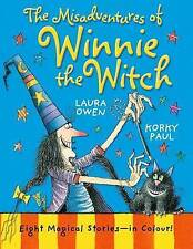 The Misadventures of Winnie the Witch by Laura Owen, Good Used Book (Hardcover)