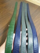 NO JOINTED GENUINE ALLIGATOR,CROCODILE S BELLY LEATHER SKIN
