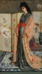 James Whistler The Princess Land of Porcelain Poster Giclee Canvas Print
