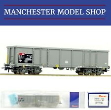 Roco 76818 HO 1 87 Open Wagon SBB Eaos Grey Swiss Era V Boxed